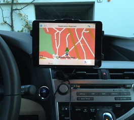 Make a Brodit car mount iPhone and iPad compatible (after)