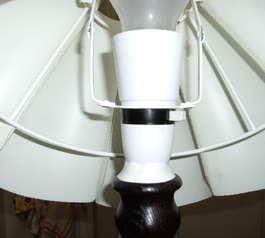 Fix a lampholder screw fitting (after)