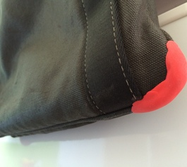 Repair your Mandarina Duck shoulder bag (after)