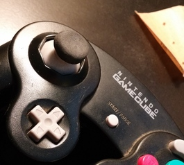 Repair the joystick on a Nintendo controller (after)