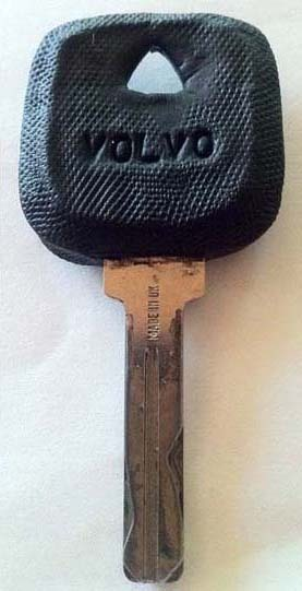 Renew a car key - Volvo edition