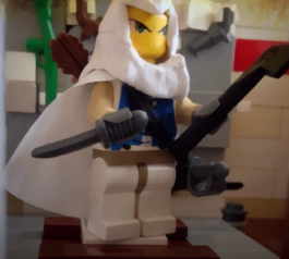 Customise a LEGO minifigure