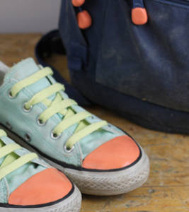 how to customise converse with sugru