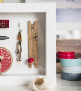 create a display for family treasures