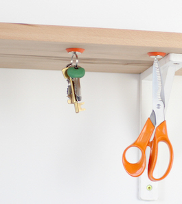 Make tidying fun with Sugru + Magnets