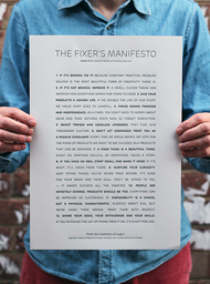The Fixer's Manifesto Poster