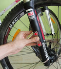How to improve a GoPro mount on a bike fork