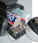 How to make a battery lid clamp (for a wireless flash receiver)