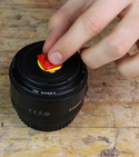 How to Lego-ify your lens cap! — Step 3