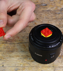 How to Lego-ify your lens cap! — Step 4