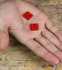 Keep your gloves together with lego and sugru! — Step 1