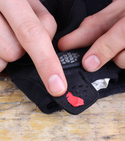 How to keep your gloves together with lego and sugru — Step 3