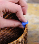 How to improve a knitting basket with a sugru clip — Step 1