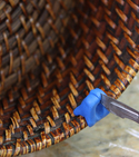 How to improve a knitting basket with a sugru clip — Step 4