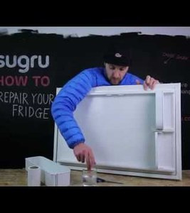 [How to] repair your fridge with sugru