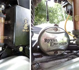 How sugru rescued a Royal Enfield motorcycle - and a 1000 mile trip