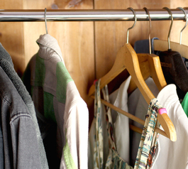 How to make your clothes hangers grippy