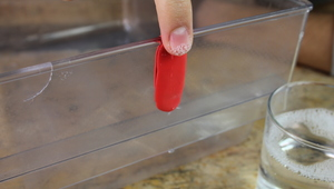 How to fix fridge shelves, drawers and lining with Sugru!