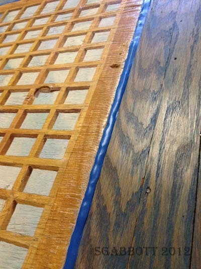 How to fix gaps in old hardwood floor