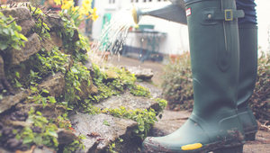 How to fix leaking wellington boots