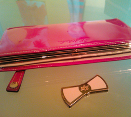 How to repair the clasp on a Ted Baker purse