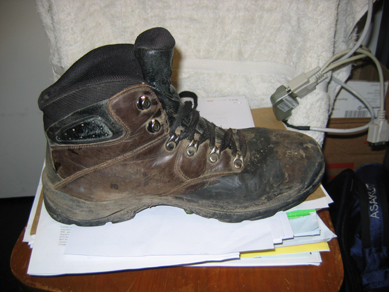 Repair your favourite hiking boots