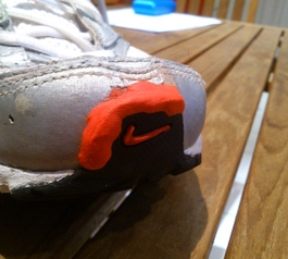 Save some old running shoes