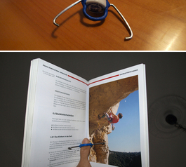 Make a book holder from a bottle top