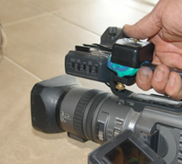 Attach a remote to your video camera
