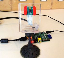 Create a Raspberry Pi camera case