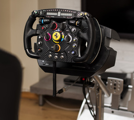Replace knobs on a sim racing wheel