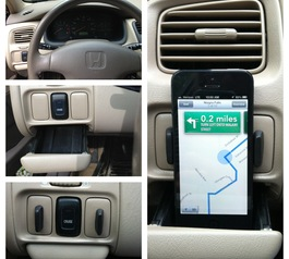 Create a GPS/iPhone stand