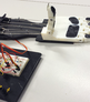 Add tactile grip to a 3d printed prosthetic