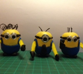 Make your minions using Kinder egg