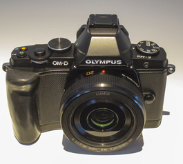 Make a custom grip for Olympus OM-D