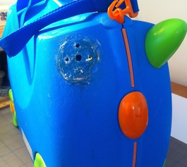 Fix a childrens Trunki suitcase