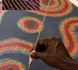 Improve an Australian Indigenous Art painting implement