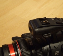Make a protective cap for the Canon video camera