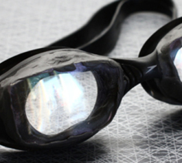 Make prescription swimming goggles