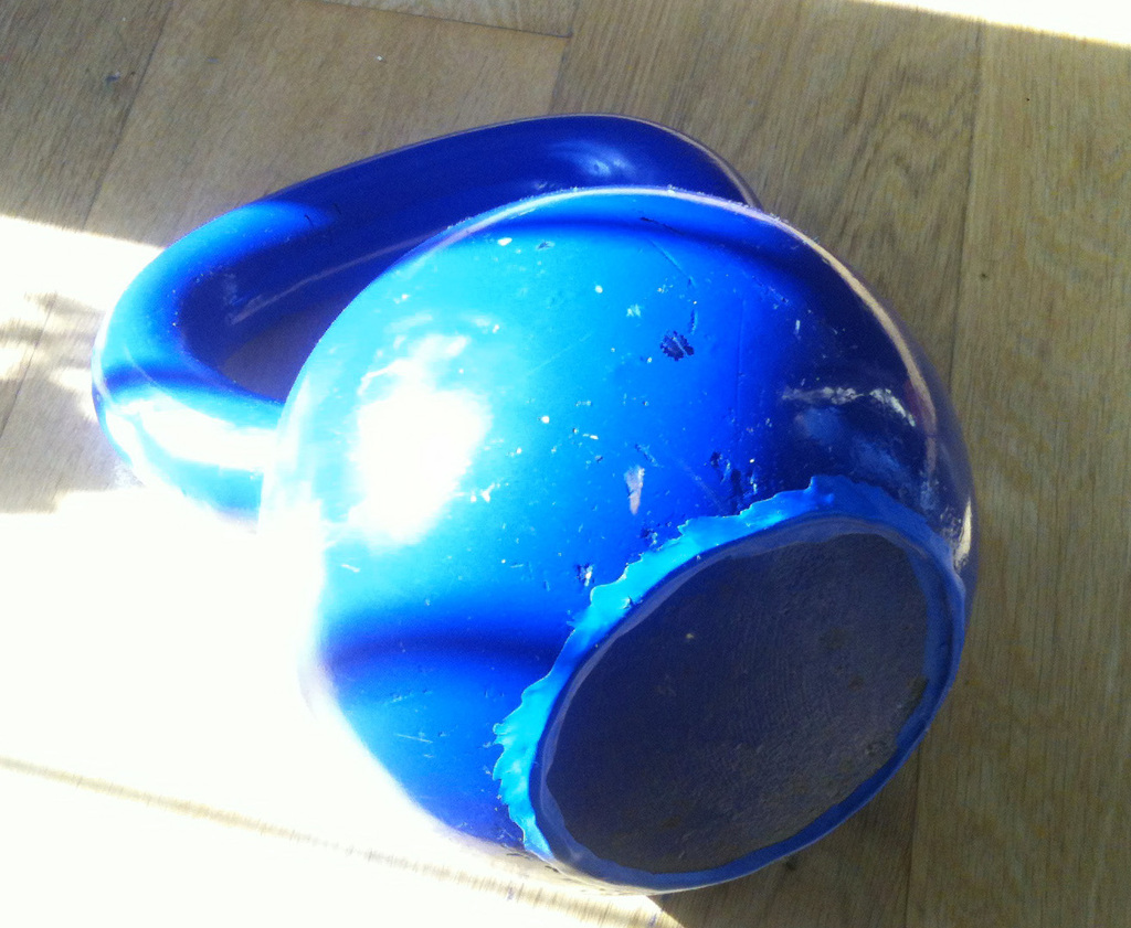 Protect floors from Kettlebell dents