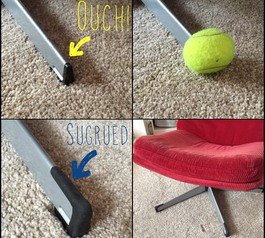 Make chair legs safe