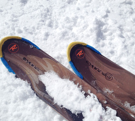 Customise the tips on your ski's