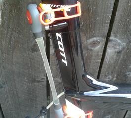 Add a cycle light to a time trial bicycle