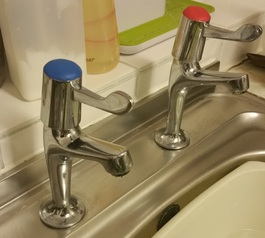 Repair the cap on your taps