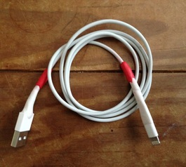 Repair a lightning cable