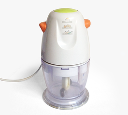Add grip to a mini food chopper