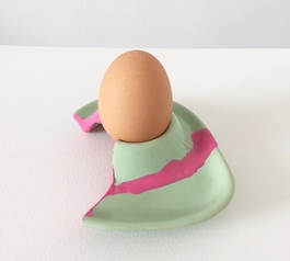 Upcycle a broken egg cup