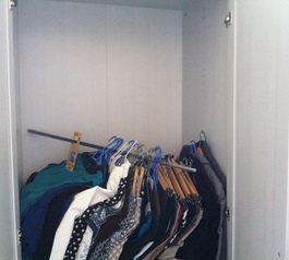 Fix the rail in your wardrobe with Sugru