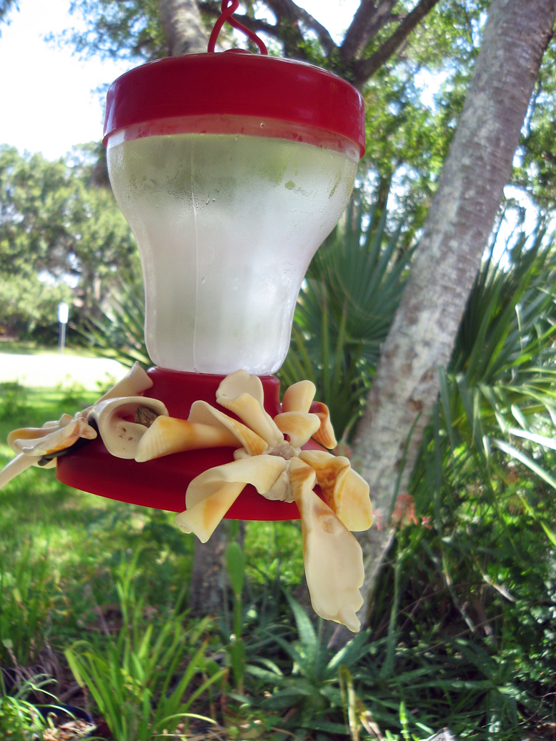 Decorate your birdfeeder