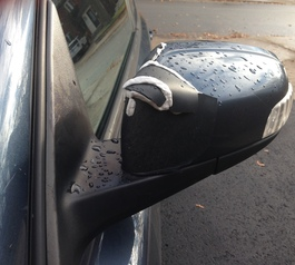 Fix a broken car mirror using Sugru.